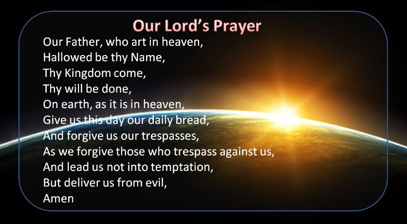 prayer our lords prayer